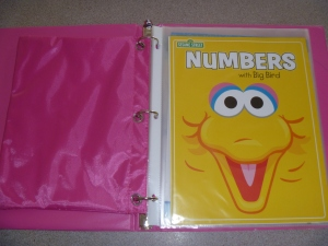 Use book cover as first page in binder.