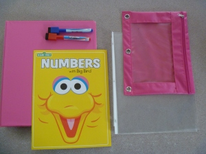Materials for busy binder