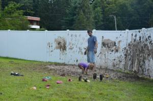 Backyard fun for a good cause