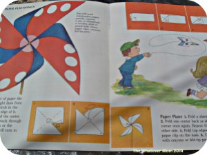 Easy to follow pictures in a book is easier for little ones to see and read.