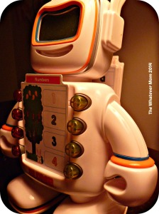 Alphie our talking robot has to be the kids' favorite gift