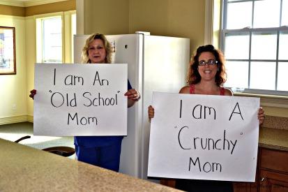 Crunchy mom