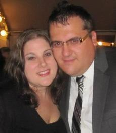 Liz and her husband- one of the reasons why she uses Wiltree products in her home.