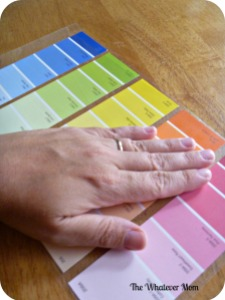 Place second piece of contact paper over item and smooth out using your hand.