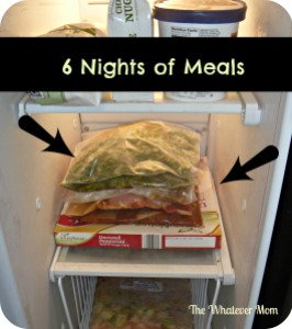 Prep ahead crock pot freezer meals are a HUGE time saver!