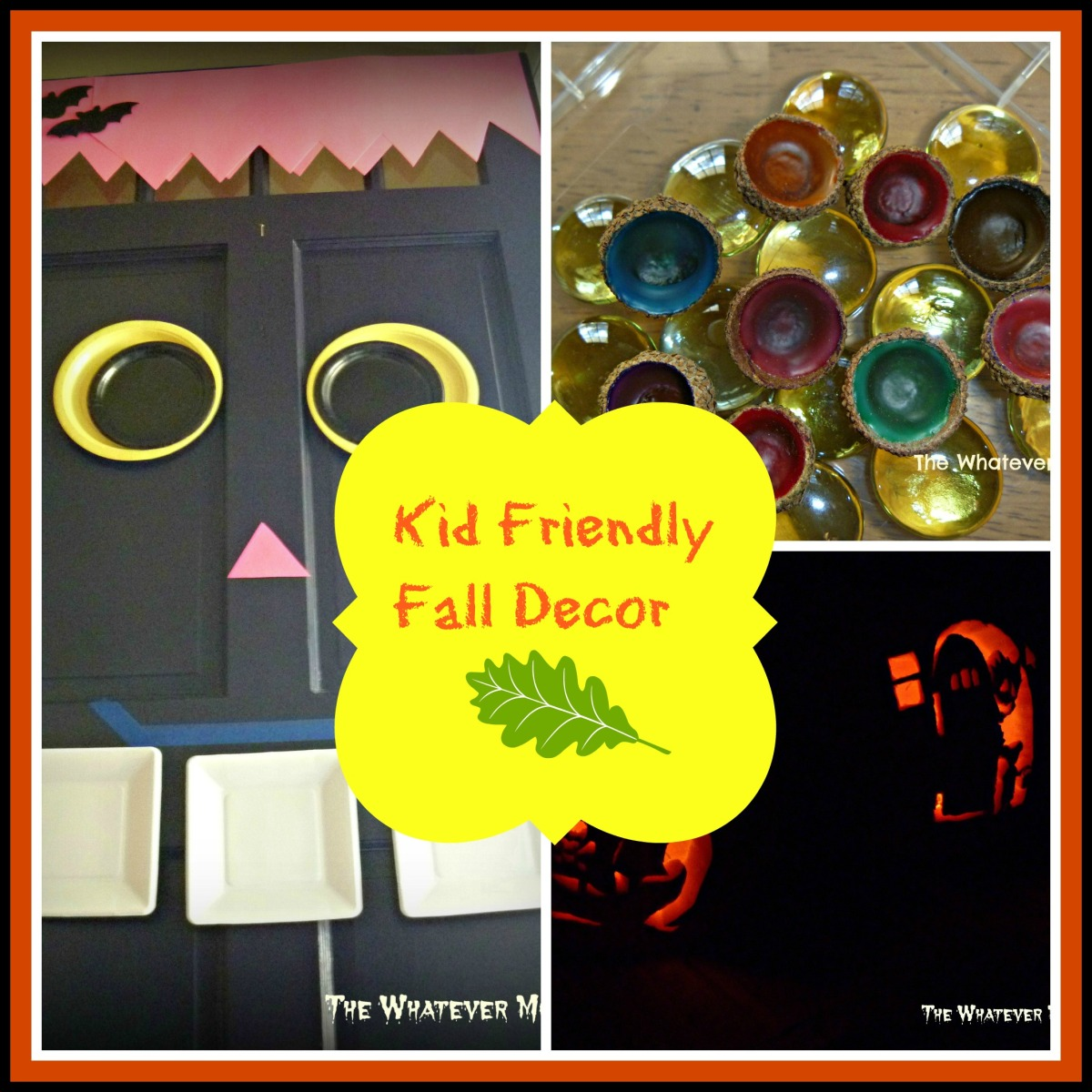 3 fun kid friendly decorations for fall halloween the whatever mom. Black Bedroom Furniture Sets. Home Design Ideas