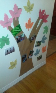 Our thankful tree!