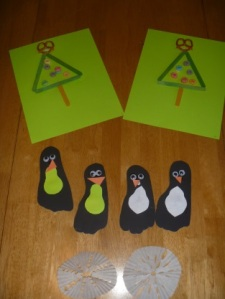 Fun little crafty cards for neighborhood friends.