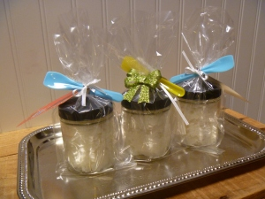 Homemade hand scrubs pamper the hands that take such good care of your little ones.