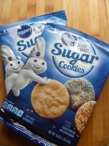 Break apart cookies no fuss, no muss!