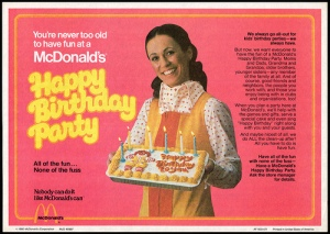 mcdonald's party
