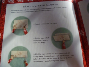 Instructions on how to make your own lanterns.