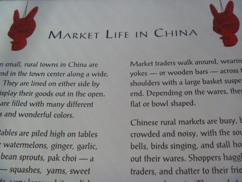 A little history about life in China.