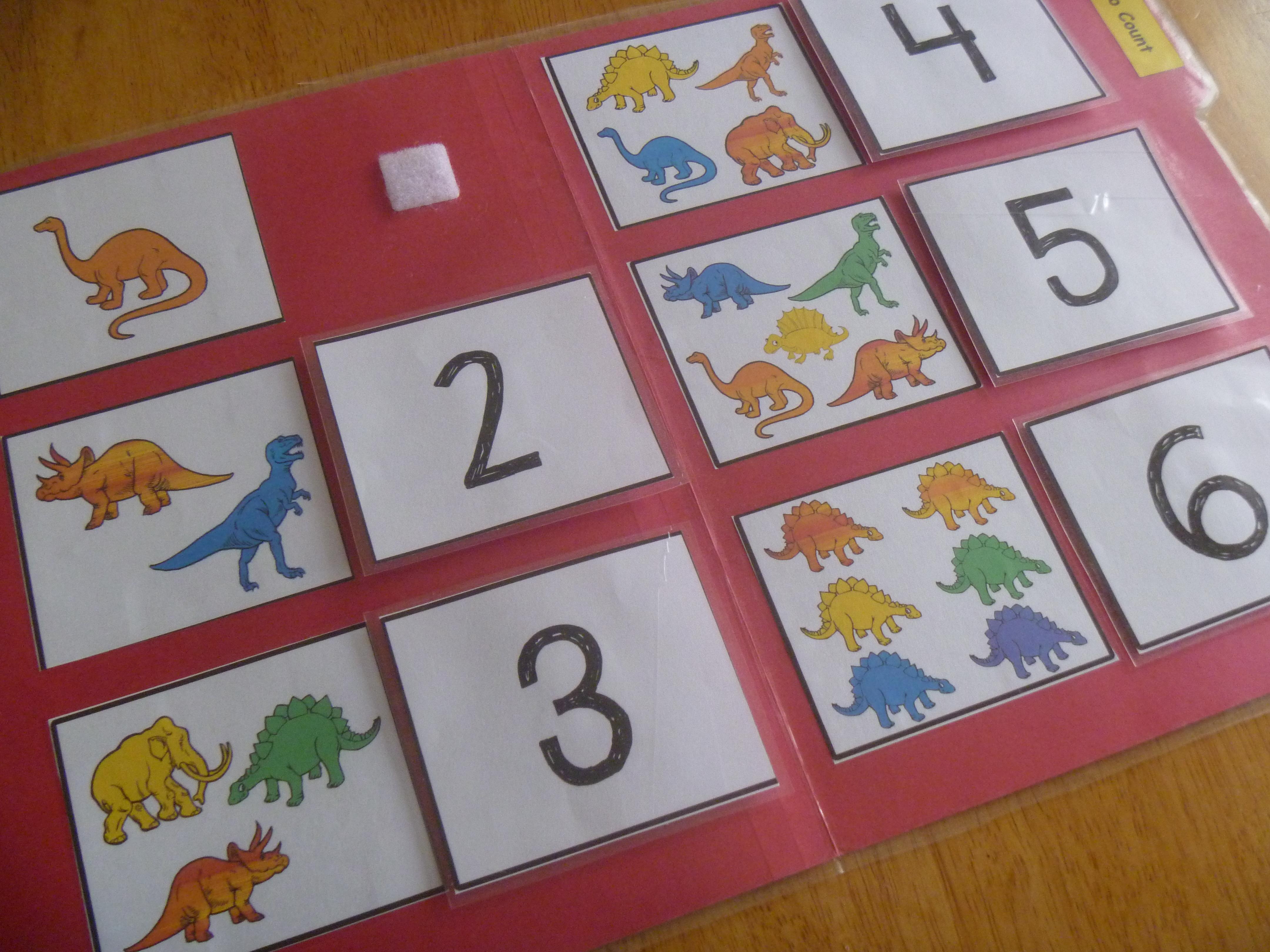 Online counting games kindergarten