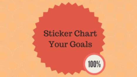 Sticker Chart Your Goals