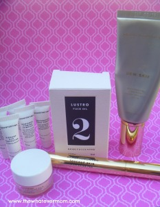 Beauty counter face kit