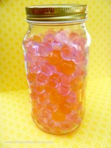 water beads jar