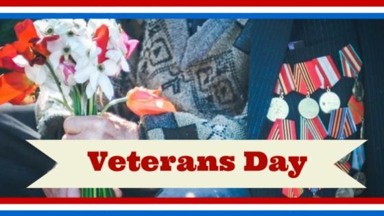Veterans Day Buddy Poppy