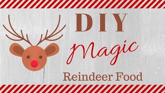 Diy Magic Reindeer Food A Christmas Eve Tradition