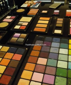 INGLOT shadow colors
