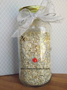 DIY Magic Reindeer Food in jar