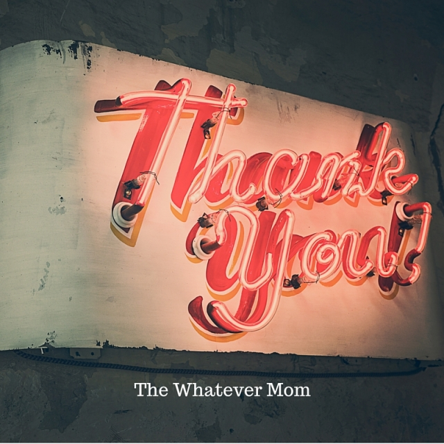 The Whatever Mom (1)